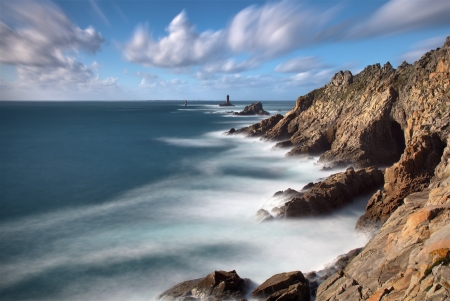 Pointe du Raz in Brittany - France