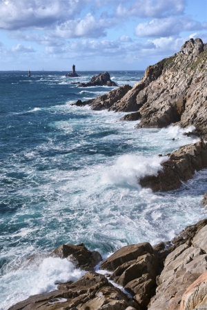 Pointe du Raz in Brittany - France Stock Photo - 16853671