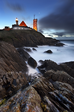 The fantastic and stormy coasts of northern France photo
