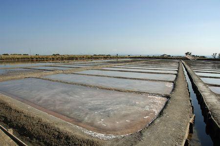 etruscan: Cervia (Ra),Romagna,Italy,the saline,old saline of etruscan origin