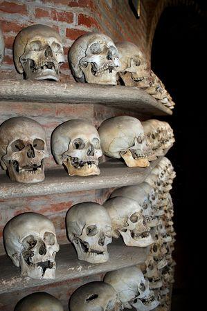 Custoza (Vr),Veneto,Italy.Ossuary of the wars of Inependence of Italy in 1848,1859,1866 Stock Photo - 6096233