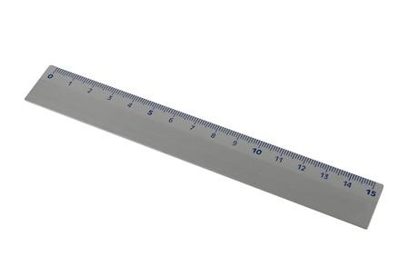 millimeter: a millimeter ruler