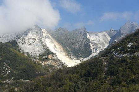 Colonata (Carrara), Italy,  the famous marble quarries Stock Photo - 9274749