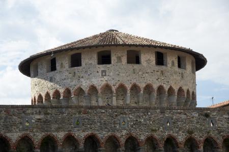 sarzana: Sarzana (Sp), Italy, the fortress
