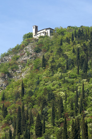 devotions: Provaglio dIseo (Bs), Italy, the church of  Our Lady of the Horn