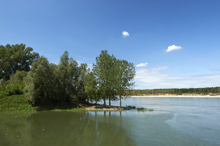 turistic: Viadana (Mn), the Po river
