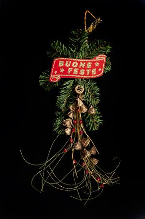 greeting christmas: a composition Christmas greeting