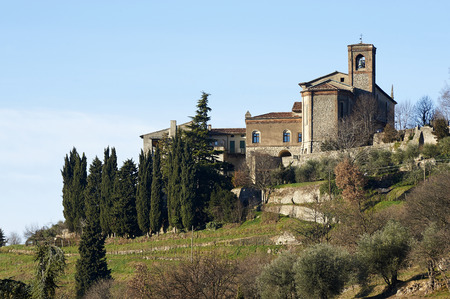 convent: Rovato (Bs), Italy, the convent of annunciation