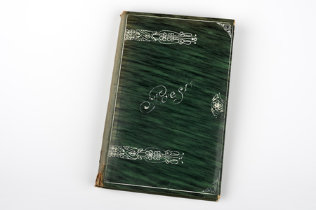 poems: an old book with notes,poems, a nd thoughts, of the early 1900s, Art Neauveau