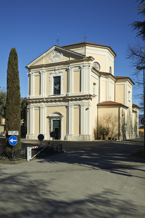 devotions: Adro (Bs) , Italy, the sanctuary of the Our Lady of the Snow
