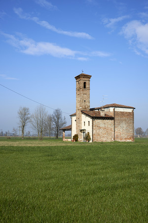 devotions: Pontegatello (Bs) , Italy, the church of the Our Lady of the Ants