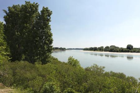 san giacomo: San Giacomo Po (Mn), Italy, the River Po