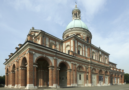 Caravaggio (BG), Italia, el santuario de Santa Maria della Fonte Foto de archivo - 57046562