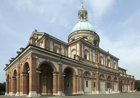 Caravaggio (Bg), Italy, the sanctuary of Santa Maria della Fonte