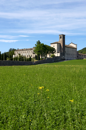 Maguzzano (Bs), Italy , the Benedectine abbey
