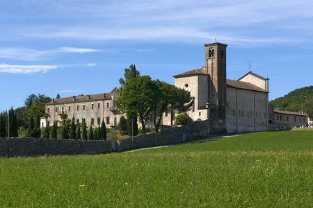 monasticism: Maguzzano (Bs), Italy , the Benedectine abbey