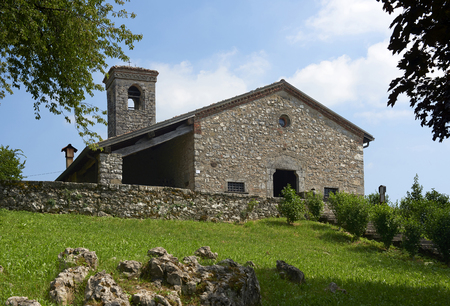 Barbaine (Bs),Italy, the church of Saint Andrew