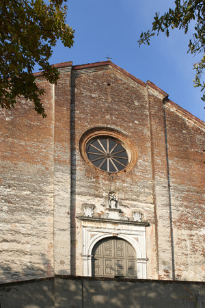 Soncino (Cr) Italy, the church of  S.Maria delle Grazie of the sixteenth century