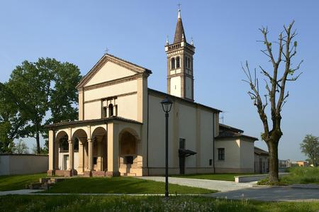 Sergnano (Cr), Italy, the Sanctuary of Saint Mary of Binengo