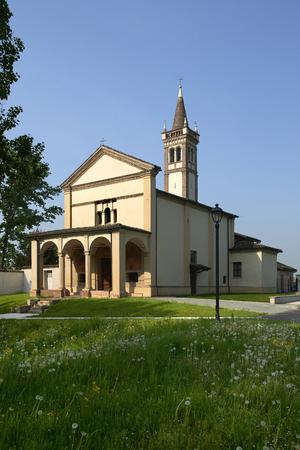 Sergnano (Cr), Italy, the Sanctuary of Saint Mary of Binengo Foto de archivo - 101357851