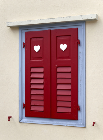a singular window Banco de Imagens