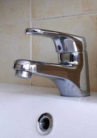 a tap of a sink Reklamní fotografie