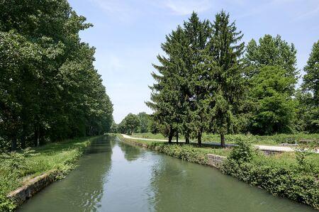 Genivolta (Cr), Italy, the Civic Canal