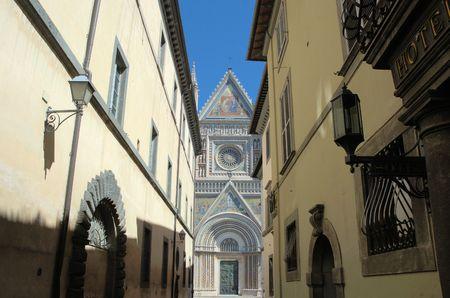 sante: Orvieto Cathedral Stock Photo