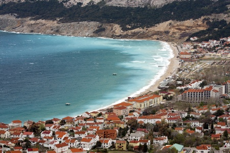 Town of Baska, Island Krk, Croatia