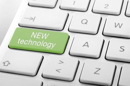 Wording New Technology on computer keyboard Stock Photo - 13629454