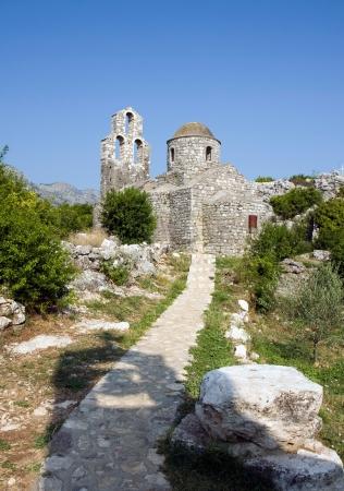 Orthodox monastery, Skadarsko lake, Montenegro