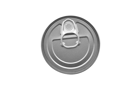 canned goods: canned food isolated on white background