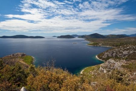 Peljesac peninsula landscape near Dubrovnik, Croatia, Europe