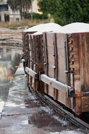 waggon: sea salt in wagons