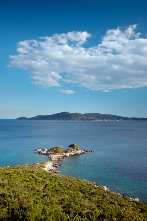 Island Sjekirica near Dubrovnik on Adriatic coast, Croatia