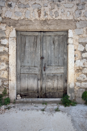 Vieilles Portes Ouvertes Un Banque D\'Images Et Photos Libres De ...
