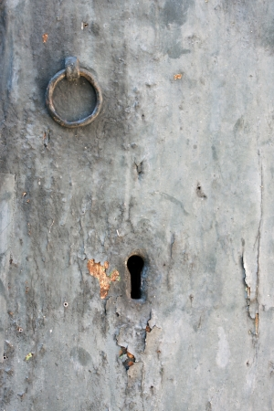 Parts of the old white door
