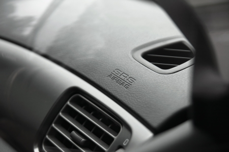 srs airbag caption on car dashboard Stock Photo - 15554401