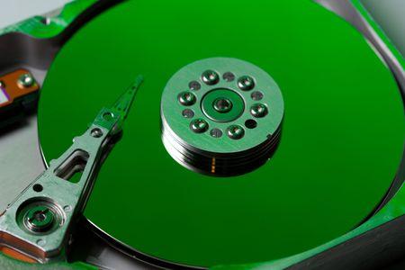 Green hard disk