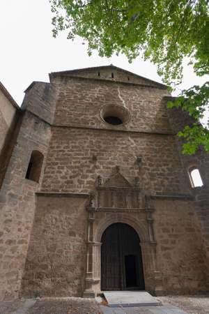 Monastery of Yuste, the place where Carlos I of Spain and V of Germany stayed and died. 新闻类图片