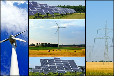 renewable energies Stock Photo - 10333477