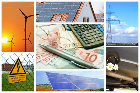 energia renovable: energ�as renovables Foto de archivo