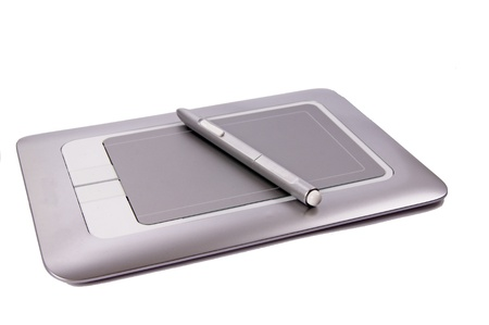 peripherals: graphics tablet Stock Photo
