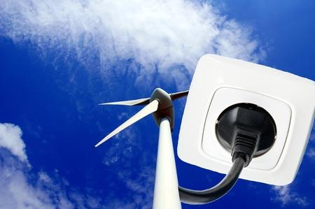 renewable energy Stock Photo - 10413378