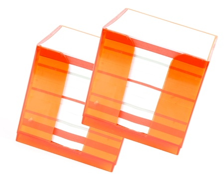 memorabilia: stickies Stock Photo