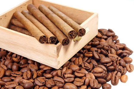 coffee and cigarettes photo