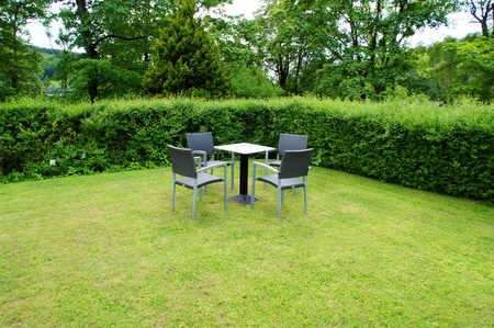 openair: seating area