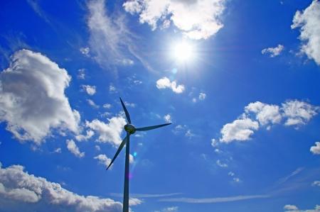 molino: Molino de viento Foto de archivo