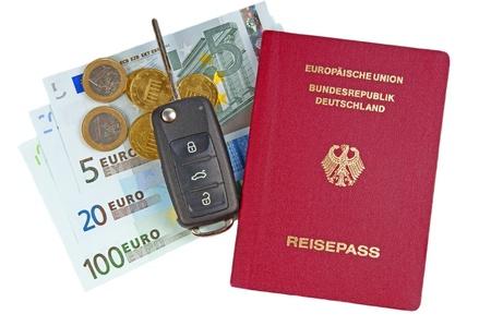 passport germany photo