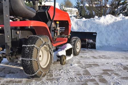 winter tractor service Stock Photo - 10658541